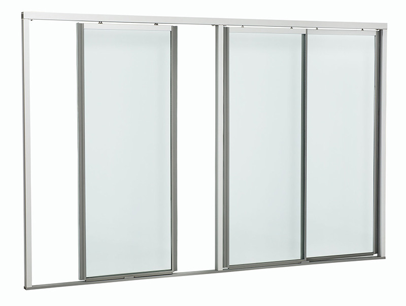 Sliding Glass Door With Narrow Frame