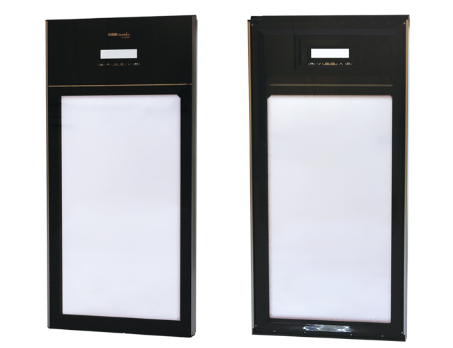 Electric Heated Wine Cabinet Glass Door